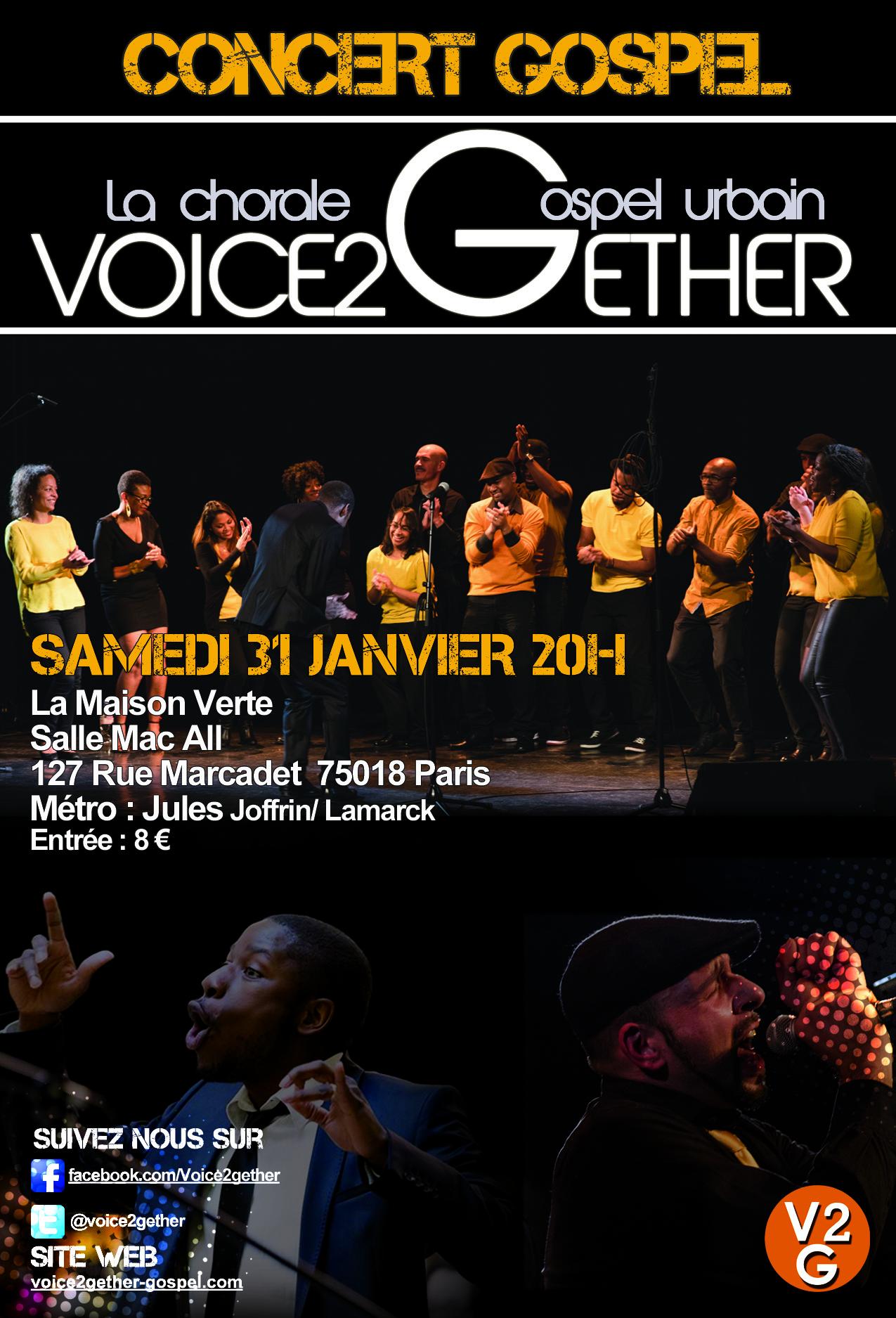 concert gospel voice2gether