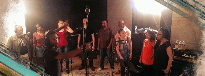 Voice2gether en studio