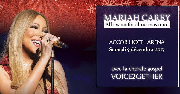la chorale gospel Voice2gether et Mariah Carey