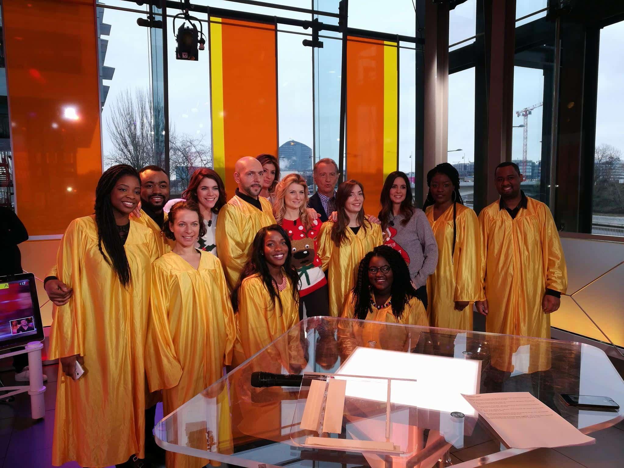 Voice2gether chorale gospel et groupe de gospel à Paris - William à midi sur C8