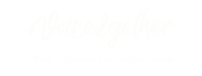 Logo Voice2gether la chorale de gospel urbain